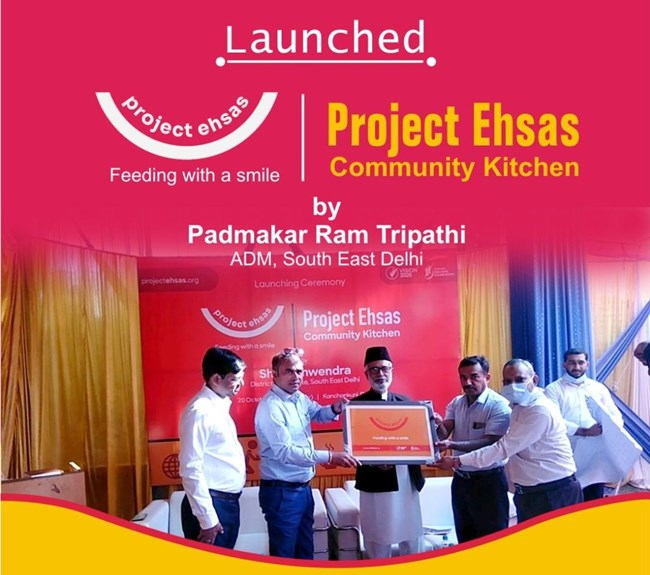 Project Ehsas -Hunger Relief Project Launched